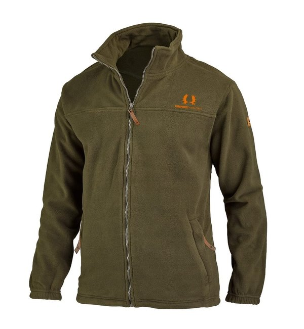 Fleece-Jacke Nordforest Hunting, oliv