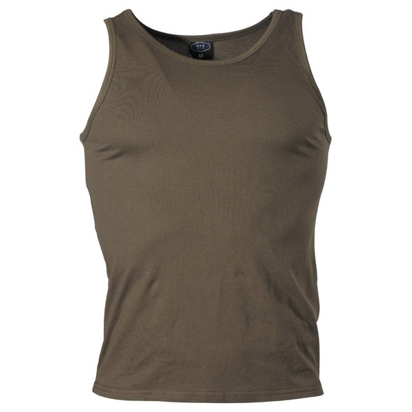 Tank-Top im US-Style, oliv