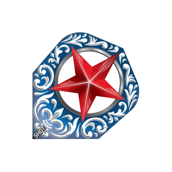 Flight Shot Wild Frontier Trailblazer (standard), Blue Red Star