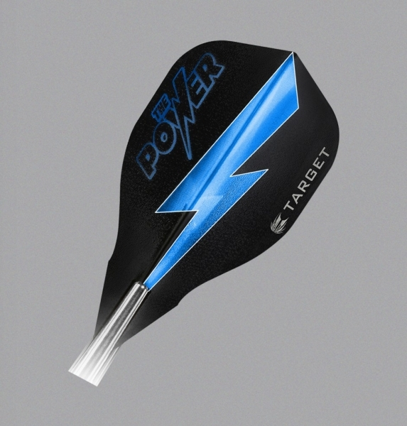 "Flight Target Phil Taylor Power Vision 9five"" (edge), schwarz/blau"