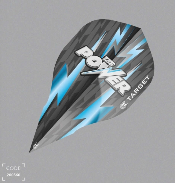Flight Target Phil Taylor Power Vision 07 (edge), schwarz/blau