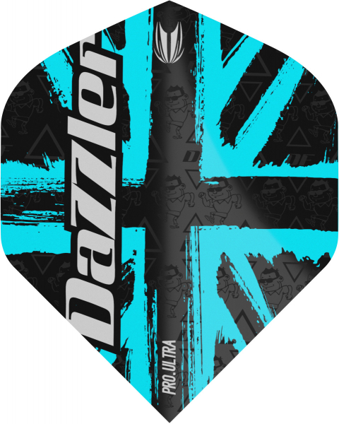 Flight Target Darryl Fitton G2 Pro Ultra No.2, (standard), schwarz/blau