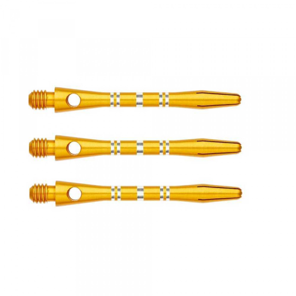 Shaft Winmau Bunt Re-​grooved - Alu (short), gold
